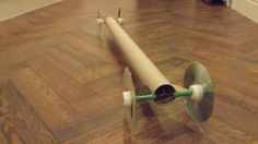 Let's make a rubberband powered car #9