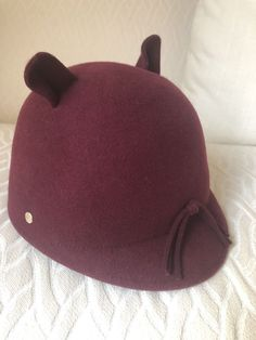 Women s Karl Lagerfeld Choupette Cat Hat Burgundy Color  fashion  clothing   shoes  accessories 9468b854dd58