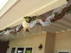 Grapevine swag. Would be great above the kitchen/living room