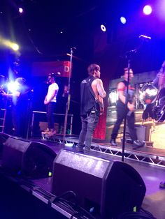 James Beau and Daniel onstage <3