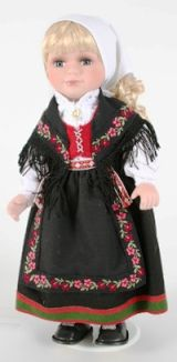 Vest Agder from Norwegian Dolls 12 inches