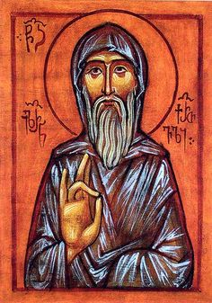 St. Hilarion the Monk and Wonderworker of Thessalonica, Georgian: On the way to Jerusalem,  Hilarion was attacked by thieves. They sought to kill the saint,  their hands suddenly withered. When the terrified thieves realized that God had punished them for raising their hands to kill the saint, they fell to their knees before St. Hilarion and begged his forgiveness.... He gave up his entire inheritance & helped the poor, built convents and monasteries.... He was well known for his virtuous…