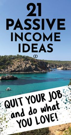 21 Passive Income Ideas for Beginners: in this post, I talk about 21 passive income ideas for beginners. Plus I share all the passive income streams I used to become financially free and quit my job! Make Money From Home, Way To Make Money, Make Money Online, Money Tips, Money Saving Tips, Investing In Stocks, Stock Investing, Investing Apps, Silver Investing