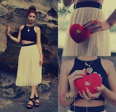Gypsy Ballerina  (by Jessica Tuong) http://lookbook.nu/look/4310977-Gypsy-Ballerina