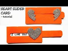 This is a tutorial on how to make a slider card. The dimensions of the card are given in the video with subtitles. Cards For Boyfriend, Boyfriend Crafts, Diy Gifts For Boyfriend, Scrapbook Ideas For Boyfriend, Handmade Birthday Cards, Diy Birthday, Birthday Card Making, Love Birthday Cards, Slider Cards