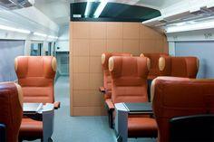 Ferarri Train Italo Interior Seats