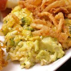 Broccoli-Rice Side Dish