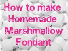 An easy homemade marshmallow fondant recipe. This recipe is really good for beginners. As a beginner you will find yourself going through lots of recipes you. Cake Icing, Fondant Cakes, Eat Cake, Cupcake Cakes, Fondant Bow, Cupcakes, Fondant Flowers, Fondant Figures, Cake Decorating For Beginners