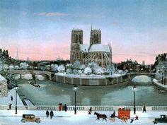 Notre-Dame  et la Seine, Michel Delacroix