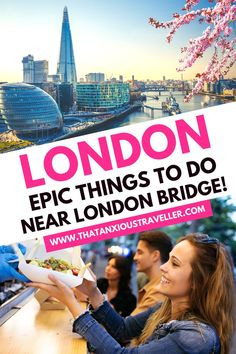 Looking for some fun things to do near London Bridge? Get some awesome ideas and inspiration with this guide! Covering some of the best attractions in London Bridge, including the Herb Garret & Old Operating Theatre, Borough Market, Tower Bridge, HMS Belfast and some hidden gems, you'll find everything you need. Get London tips! #london #londontravel #londonbridge