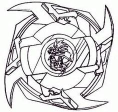 Beyblade Coloring Pages For Kids Printable Free Ethan S 6th