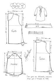 Resultado de imagen para moldes de blusas