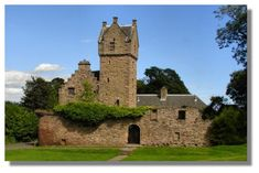 Mains Castle, in Caird Park, Dundee