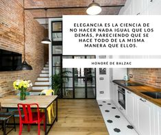 Elegance is the science of doing nothing like others, seeming to do everything in the same way they do.- Honoré de Balzac ¡Have a nice weekend! Nice Weekend, This Is Us Quotes, Do Everything, Kitchen Cabinets, Science, Elegant, Design, Home Decor, Classy