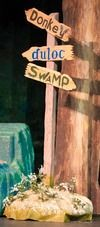 Crossroads sign. | Shrek | Pinterest