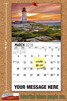 2021 Atlantic Canada Wall Calendars with your Business Name & Logo - low as Advertise in the homes and offices of people in your area all year! Marketing Approach, Atlantic Canada, Viral Marketing, Business Organization, Calendar, Advertising, Strong, Messages, Logo