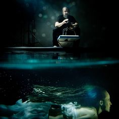 The Cameraman and the Mermaid by bert stephani, via Underwater Photography, Art Photography, Behind The Scenes, Northern Lights, Like4like, Mermaid, In This Moment, Concert, Amazing