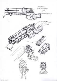 ArtStation - line sketches - weapons , Timur Mutsaev Konosuba Wallpaper, Armas Ninja, Steampunk Weapons, Graphisches Design, Line Sketch, Future Weapons, Gun Art, Weapon Concept Art, Fantasy Weapons