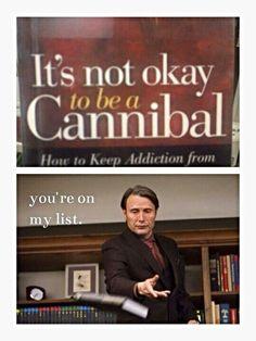 Hannibal is not amused hahaha