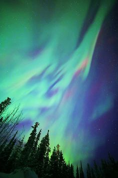 Waves in the sky. #northernlights #auroraborealis