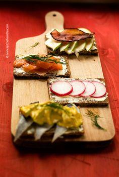 Earth Eats: Danish Smorrebrod (Smørrebrød) | Fresco, Nordic Recipe, Open Faced Sandwich, Radish Recipes, Easy Chinese Recipes, Scandinavian Food, Danish Food, Sandwiches For Lunch, Eat Smart
