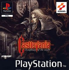 Old school video games: CASTLEVAINA: SOTN. Repin if you remember!