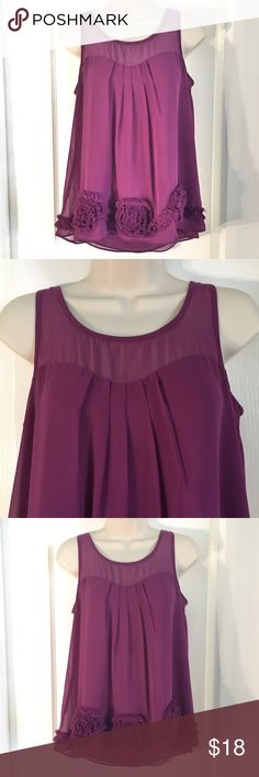 "LC Lauren Conrad Blouse LC Lauren Conrad Blouse ~ Size XS ~ Color is Plum ~ UA to UA is approximately 17"" ~ Length is approximately 24"" LC Lauren Conrad Tops Blouses"