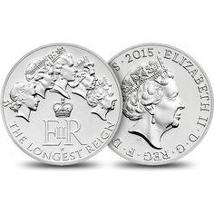 The Longest Reigning Monarch 2015 UK £20 Fine Silver Coin   The Royal Mint