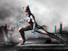 Catwoman 3-D conversion by MVRamsey on DeviantArt