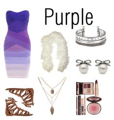 """Purple"" by amelia21star ❤ liked on Polyvore featuring O'Neill and Charlotte Tilbury"