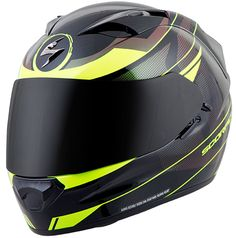 Scorpion EXO-T1200 Mainstay Helmet - The EXO-T1200 is the first helmet model to join Scorpion's new T-Series, designed with premium features to meet the needs of hardcore or leisure touring riders. The profile is aerodynamic and aggressive, while advanced features like the TCT® composite shell, AirFit® liner inflation system, 3-Step SpeedView® drop down sun visor and VSV™ ventilation system enhance any type of riding experience.