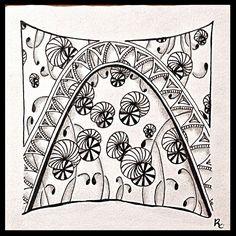 Tangled Tuesday No. 53 - blog post by Laurel Regan at Alphabet Salad.