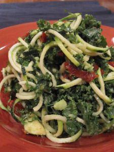 Sun-Dried Tomato Kale Noodle Salad
