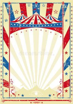 Old tricolor poster big top. A circus vintage poster for your advertising , Carnival Posters, Circus Poster, Carnival Themes, Circus Birthday, Circus Theme, Circus Party, Free Baby Shower Invitations, Birthday Invitation Templates, Vintage Carnival