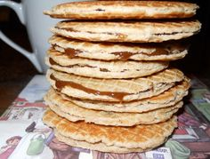 Recipe for Stroopwafel Dutch Cookies