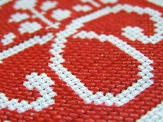 Convert embroidery and needlepoint patterns to bead work.