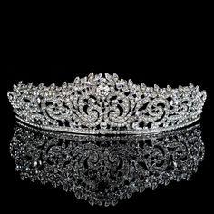 Bridal Crown, Bridal Tiara, Headpiece Wedding, Bridal Headpieces, Royal Tiaras, Royal Jewels, Tiaras And Crowns, Queens Tiaras, Fantasy Gowns