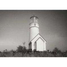 Misty Lighthouse IV Canvas Art - Vitaly Geyman (20 x 28)