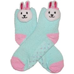 RSG Girls & Women's Animal Non Skid Slipper Socks (Solid Bunny) RSG http://www.amazon.com/dp/B00H30D854/ref=cm_sw_r_pi_dp_hthcwb140SVNM