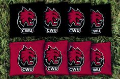 Cornhole Bag Logo Set - Central Washington University 16656
