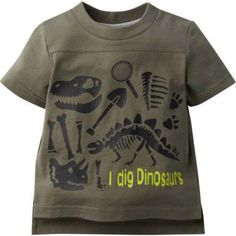 Gerber Graduates Baby Toddler Boy Graphic T-shirt, Size: 3 Years, Green