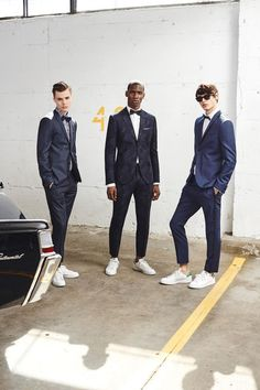 Suits & Sneakers. Metallic Trellis Tuxedo Jacket & Pant - http ...