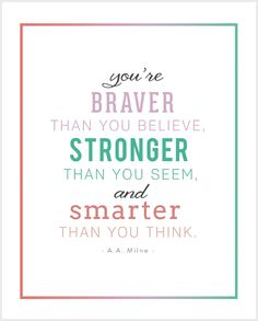 5 FREE PRINTABLE INSPIRATIONAL CHILDREN'S QUOTES