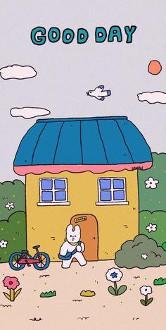 Cute Pastel Wallpaper, Paper Wallpaper, Cute Wallpaper Backgrounds, Aesthetic Iphone Wallpaper, Aesthetic Wallpapers, Illustration Software, Cute Illustration, Cute Girl Drawing, Cute Kawaii Drawings