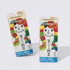 「実になる野菜」野菜ジュース Fruit juice : ) PD