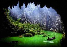 Corridor of Stone Peaks, China - Imgur