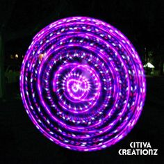 Cheshire Cat Strobe LED Hula Hoop