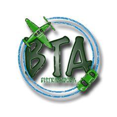 DCastro Propaganda: BTA - distribuidora / proposta / logo