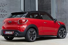 MINI cooper Paceman Hatchback Red Color