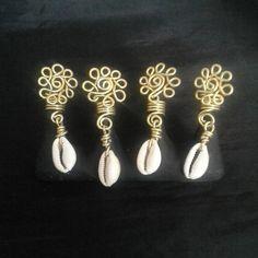 4 Pc Set Loc Jewelry Dread Bead Set by SoftlySisterDesigns on Etsy